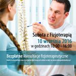 19809476 - physiotherapist in his practice, he explains a female patient the vertebral column and the emergence of back pain